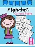 FREE Alphabet Cut and Paste Set 1
