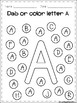 FREE Alphabet Dab (A-Z)