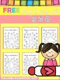 FREE Alphabet Dab (A-Z) Coronavirus Packet Distance Learning