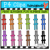FREE Alphabet Fun NUMBER SIGN (P4 Clips Trioriginals)