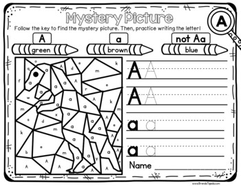 FREE: Alphabet Games Sampler: 4 Printables for the letter A