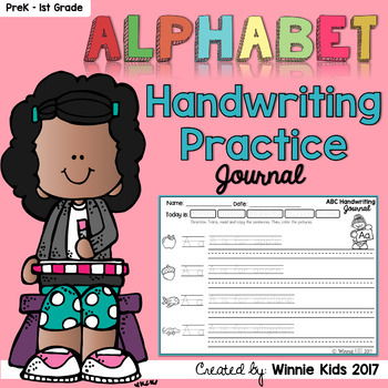 FREE Alphabet Handwriting Practice Journal