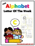 FREE Alphabet Letter Of The Week (C)