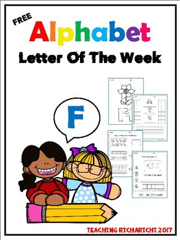 FREE Alphabet Letter Of The Week (F)