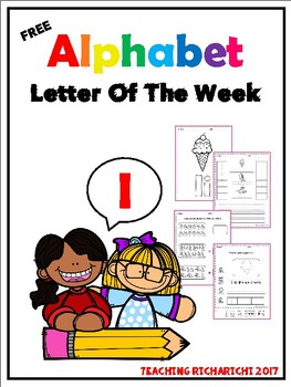 FREE Alphabet Letter Of The Week (I)