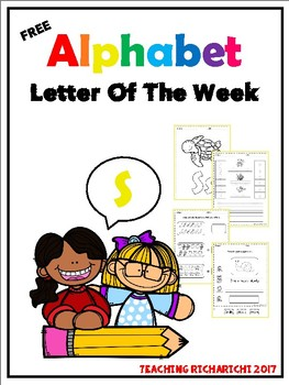 FREE Alphabet Letter Of The Week (S)