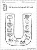 FREE Alphabet Letter Of The Week (U)