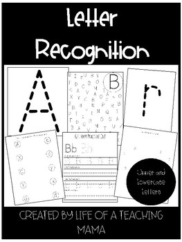 FREE Alphabet Letter Recognition (Uppercase and Lowercase)