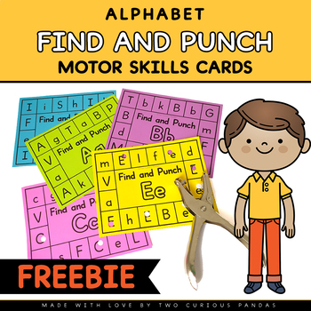 FREE Alphabet Punch Cards