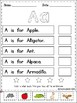 FREE Alphabet Sentences Cut and Paste