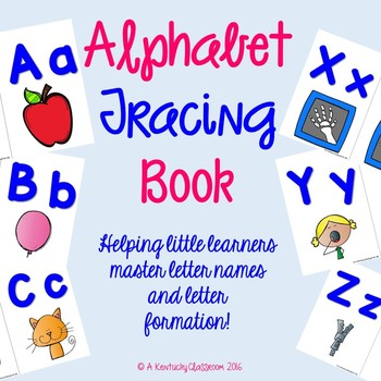 FREE Alphabet Tracing Book