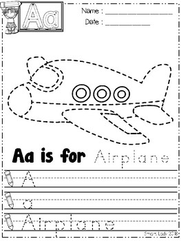 FREE Alphabet Tracing Pages