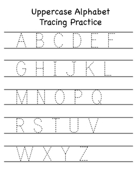 FREE Alphabet Tracing and Printing Pages!