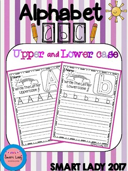 FREE Alphabet Upper and Lower Case