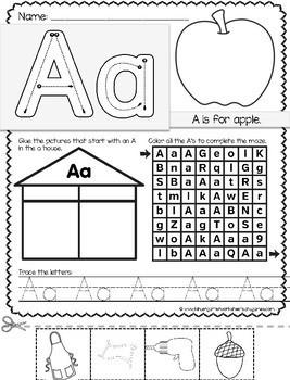FREE Alphabet Worksheets