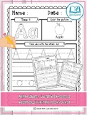 FREE - Alphabet Worksheets: Handwriting Activity