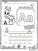 FREE Alphabet Worksheets - Trace and Color