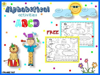 FREE Alphabetical Activities - Carnival Edition