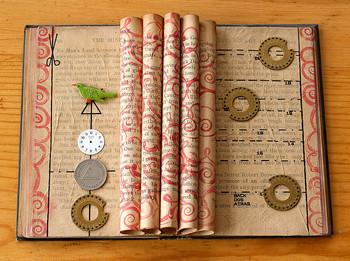 FREE Altered Books Quicktime Movie; Anticipatory Set