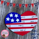 Speech Therapy Craft   Memorial Day Activity   Free