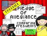 FREE Pledge of Allegiance & American President Comparisons