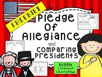 FREE Pledge of Allegiance & American President Comparisons