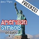 FREE American Symbols Reader for President's Day