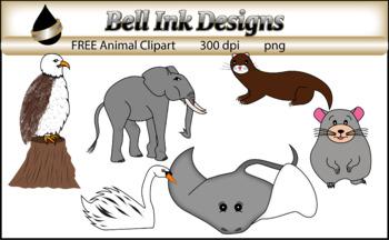 FREE Animal Clipart