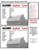 FREE Animal Farm Allegory Match Up Sheet. PRINT & GO!