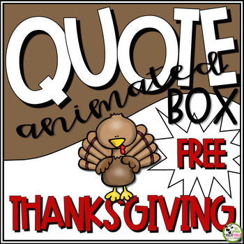 FREE Animated Thanksgiving GIF For your Personal Quote Space