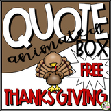 TpT Store Animated Thanksgiving GIF for your Personal Quot