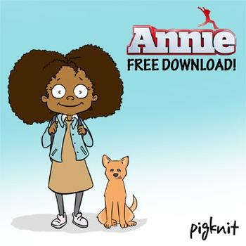 Annie and Sandy Movie Clip Art - Annie Movie, Television, Dog