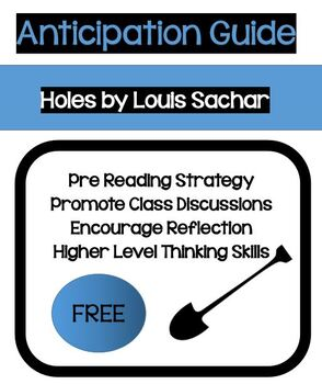 FREE!  Anticipation Guide to Holes