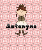 FREE Antonyms Center Games & Hallway Cards