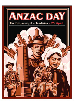 FREE Anzac Day classroom poster