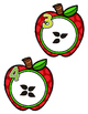FREE Apple Counting Cards