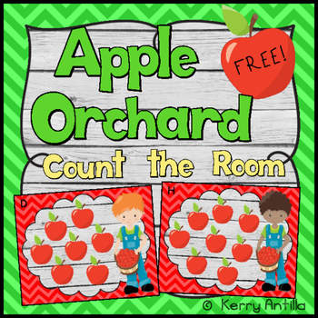*FREE* Apple Orchard Count the Room