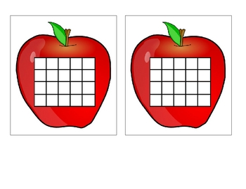 FREE Apple Shaped Incentive Chart