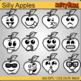 FREE Apple Smileys - Clip Art