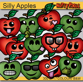 FREE Apple Smileys - Clip Art