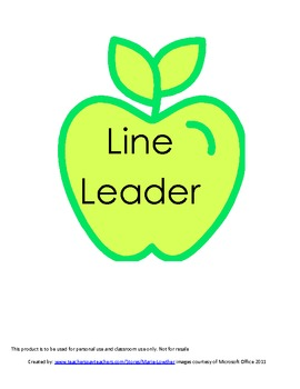 FREE Apple Special Helper Chart