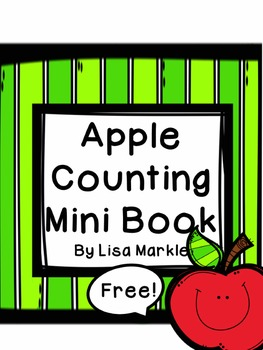 FREE Apple Theme Counting Book for Preschool