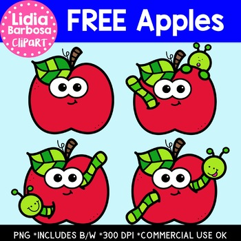 FREE Apples Clipart