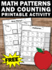 FREE Counting Worksheets Apple Math TpT Digital Activities Printables