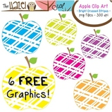 FREE Apples Set: Clip Art Graphics for Teachers {Bright Cr