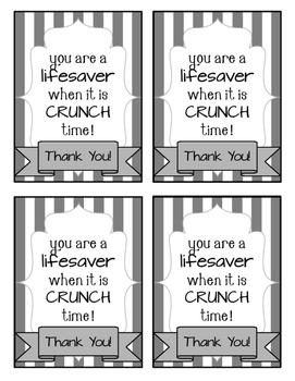 {FREE} Candy Appreciation Cards!