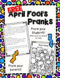 FREE April Fool's Day Pranks
