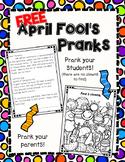 FREE April Fool's Day Pranks