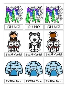 FREE Arctic Antics {Color Word Game}