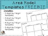 FREE Area  model template